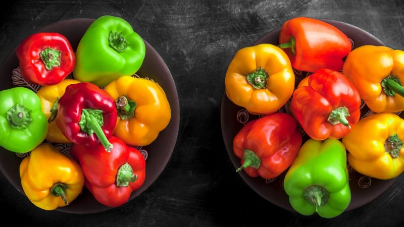 Nutrition Facts of Peppers