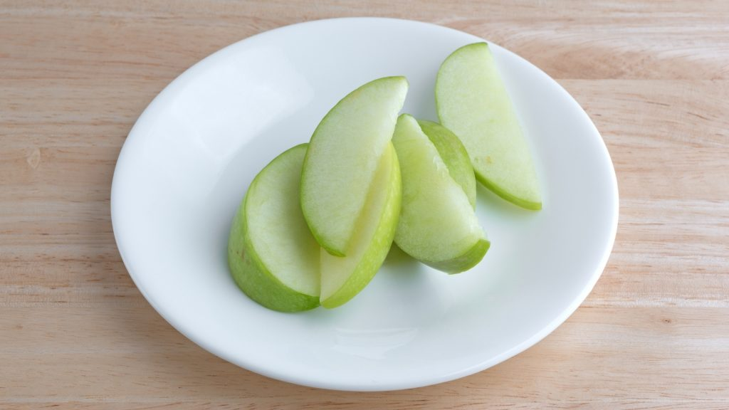 Serving Size and Frequency of Green Apples for Guinea Pigs